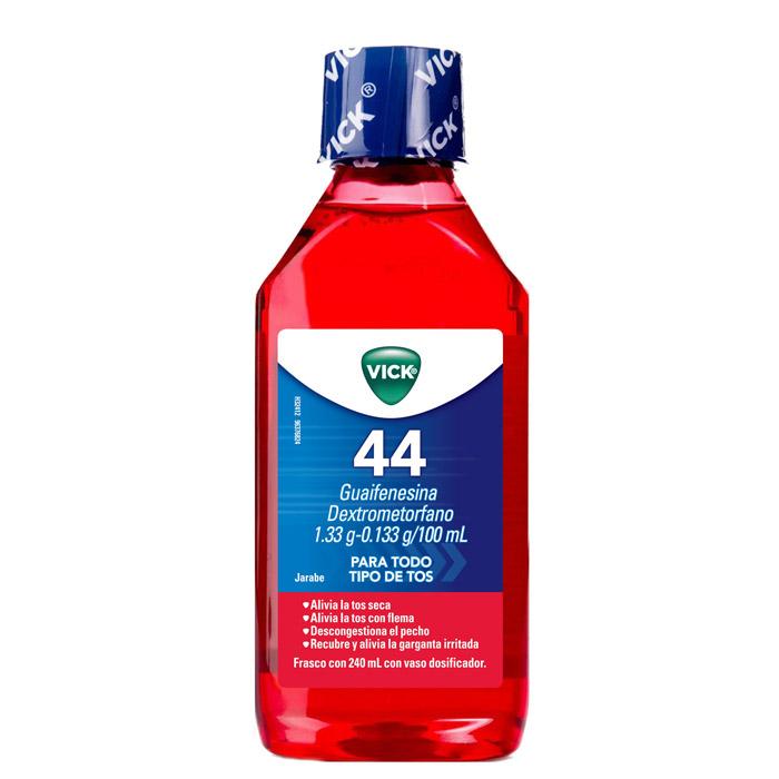 Jarabe para la tos expectorante 44